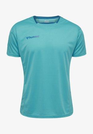 HMLAUTHENTIC - T-shirts print - bluebird