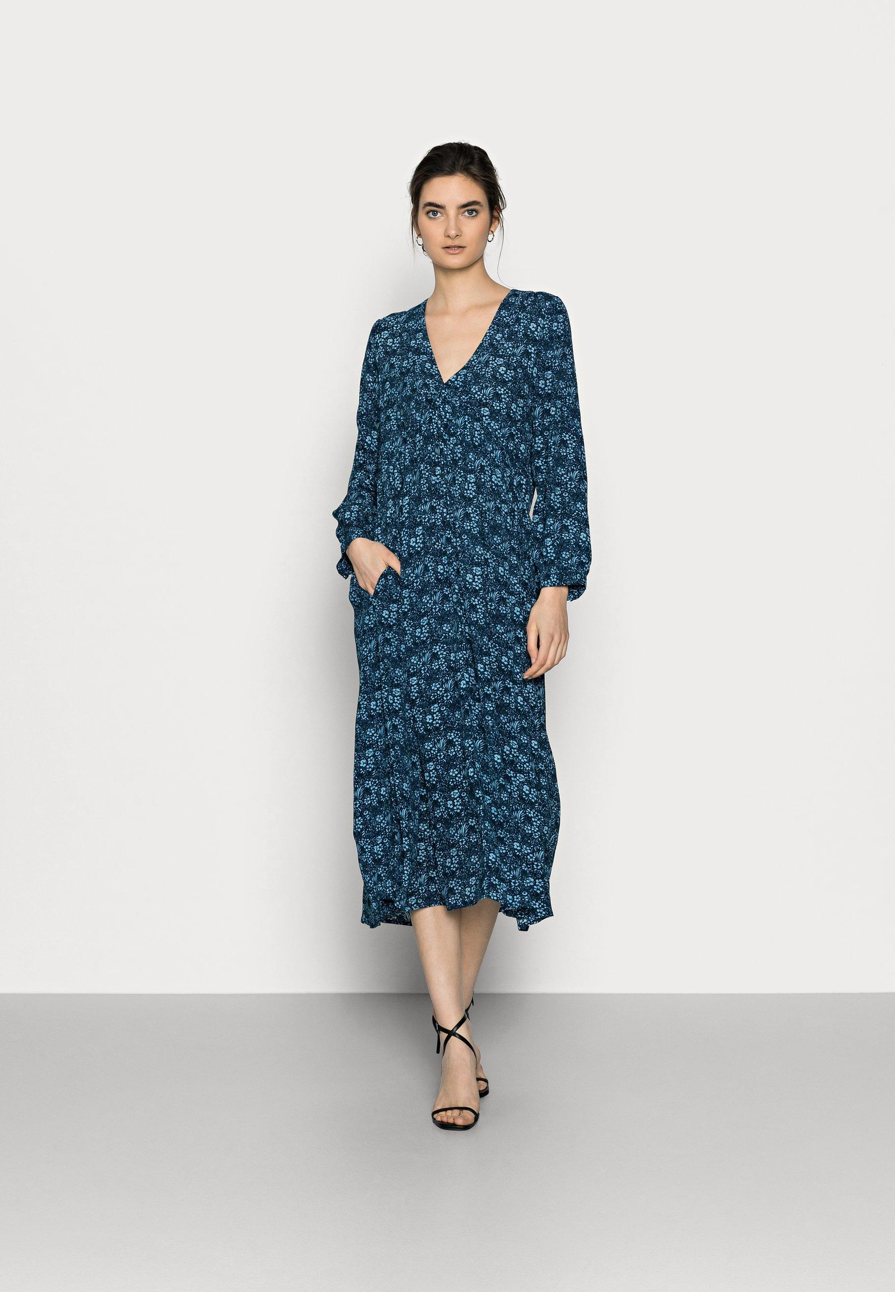 Femme YASPICCOLINA 7/8 MIDI DRESS - Robe d'été