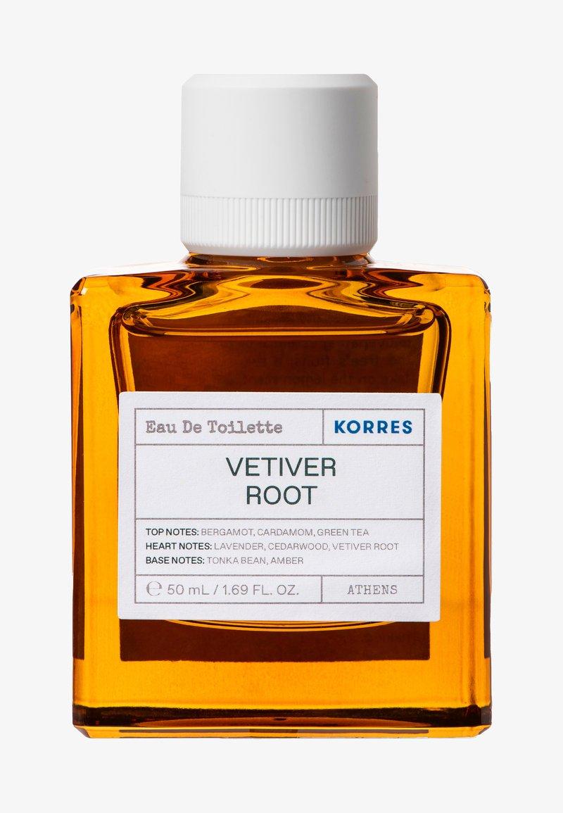 Korres - VETIVER ROOT EDT FOR HIM - Eau de Toilette - -