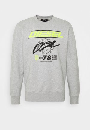 S-GIRK-K11 SWEAT-SHIRT - Sweatshirt - grey melange