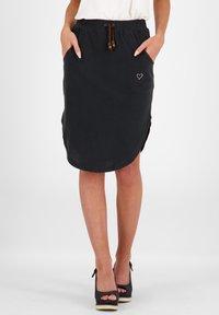 alife & kickin - HOLLYAK  - A-line skirt - moonless - 0