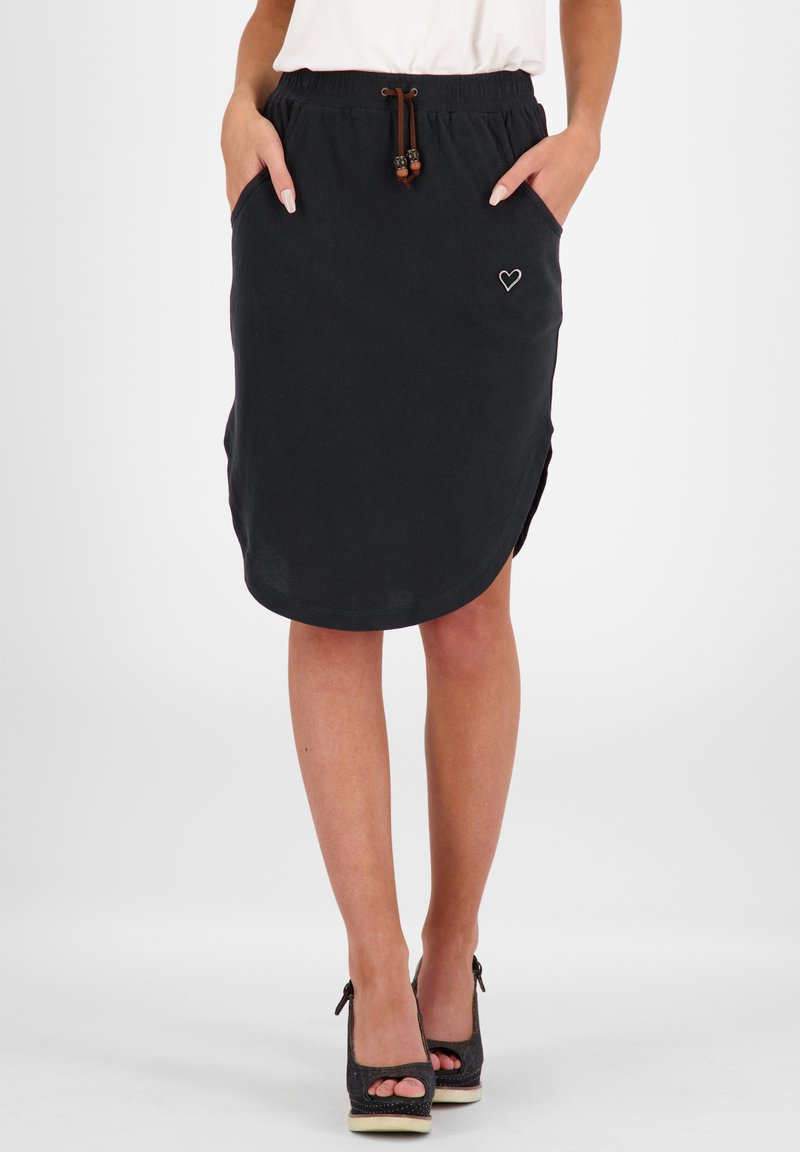 alife & kickin - HOLLYAK  - A-line skirt - moonless