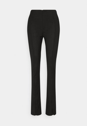 TROUSERS - Trousers - black tailored
