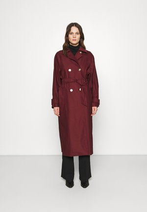 LAVANDA - Trenchcoat - bordeaux
