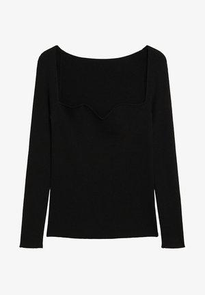 COEUR - Pullover - schwarz