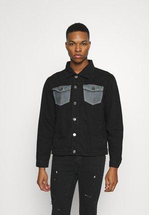 NAFERN - Veste en jean - black denim