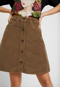 Noisy May - Mini skirt - tobacco brown - 4