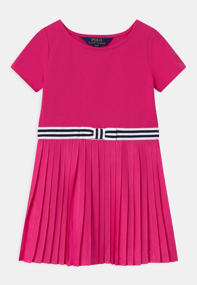 Polo Ralph Lauren - PLEATED DRESSES - Žerzejové šaty - accent pink