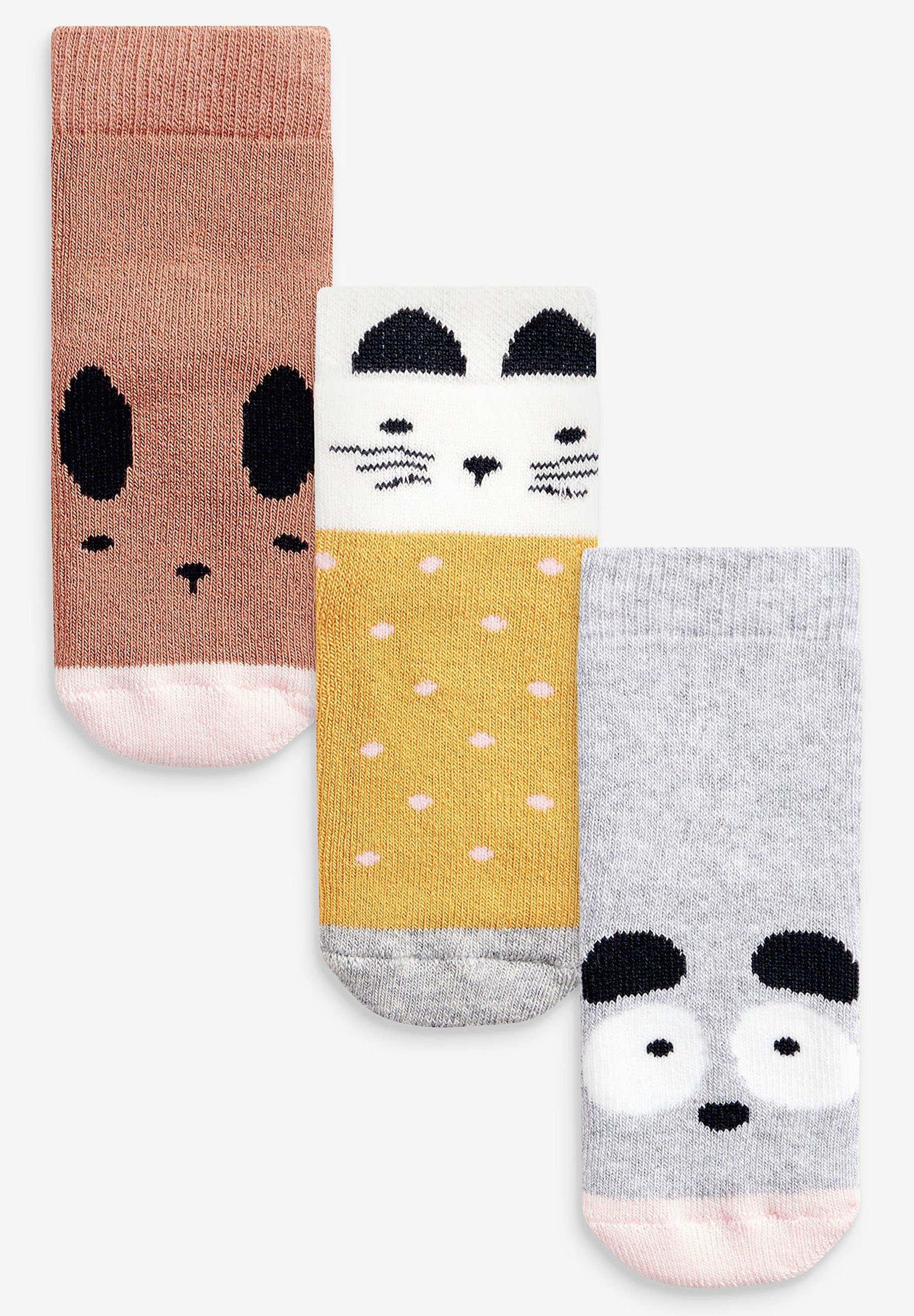 Kinder PACK OF 3 TERRY TOWELLING CHARACTER YOUNGER - Socken
