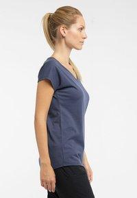 Haglöfs - FUNKTIONSSHIRT CAMP TEE - Basic T-shirt - dense blue - 2