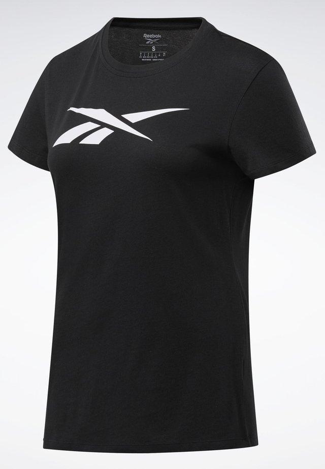 TRAINING ESSENTIALS VECTOR GRAPHIC - Camiseta estampada - black