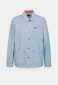 Brixton - SURVEY RESERVE CHORECOAT - Summer jacket - worn indigo - 5