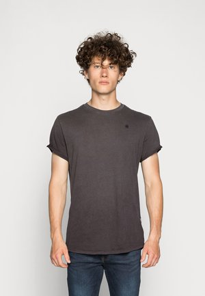 LASH  - Basic T-shirt -  brown