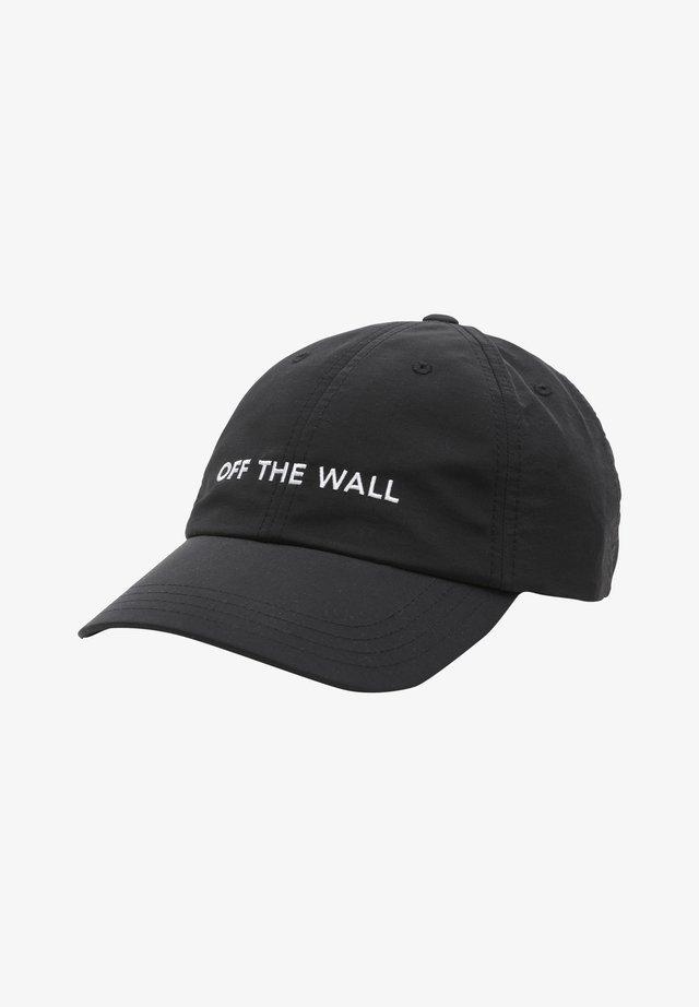 WM NYLON COURT SIDE HAT - Casquette - black