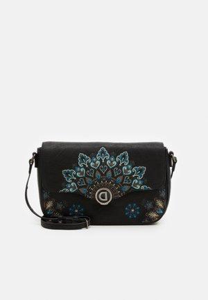DEVA AMORGOS - Handbag - black