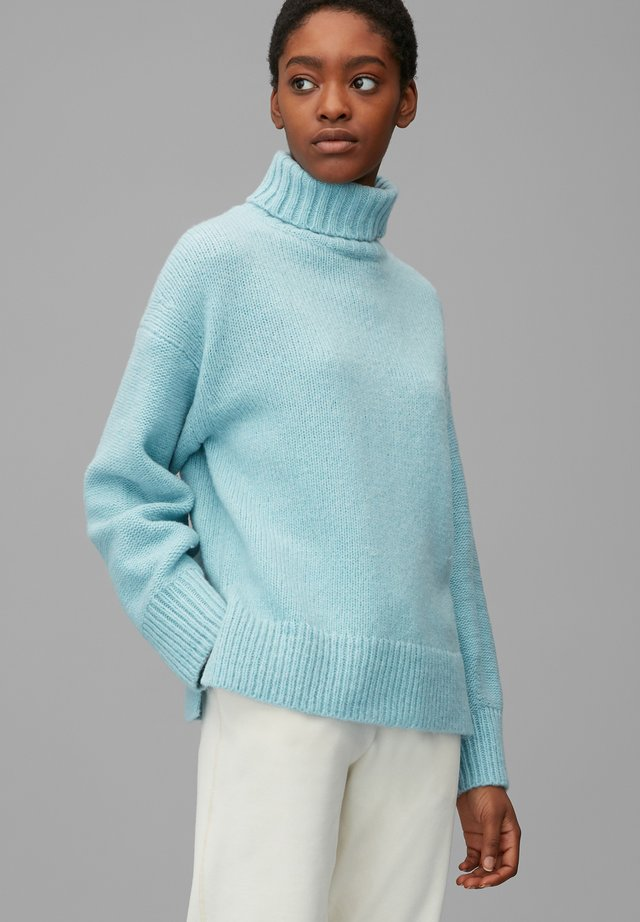 Sweter - glacier blue