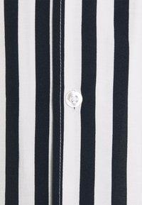 Zign - UNISEX - Button-down blouse - dark blue/white - 2