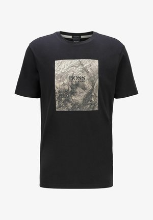 TIRIS  - T-shirt imprimé - black