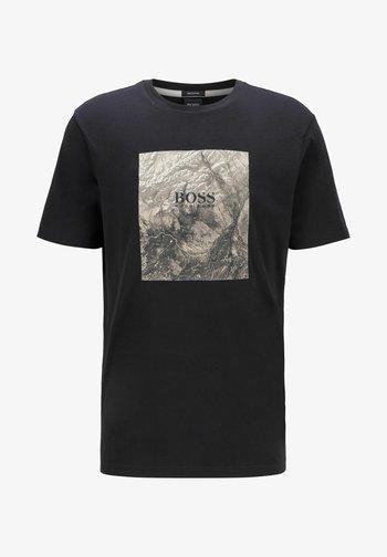 TIRIS  - Print T-shirt - black