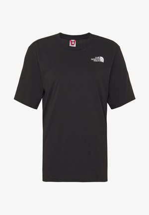 SIMPLE DOME - Basic T-shirt - black