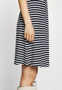TOM TAILOR - Jersey dress - navy/stripe - 5