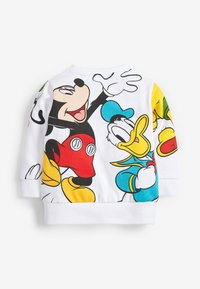 Next - MICKEY AND FRIENDS CREW NECK SWEAT TOP - Jumper - white - 1