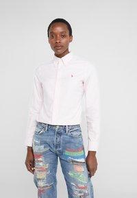 Polo Ralph Lauren - OXFORD KENDAL SLIM FIT - Button-down blouse - pink/white - 2
