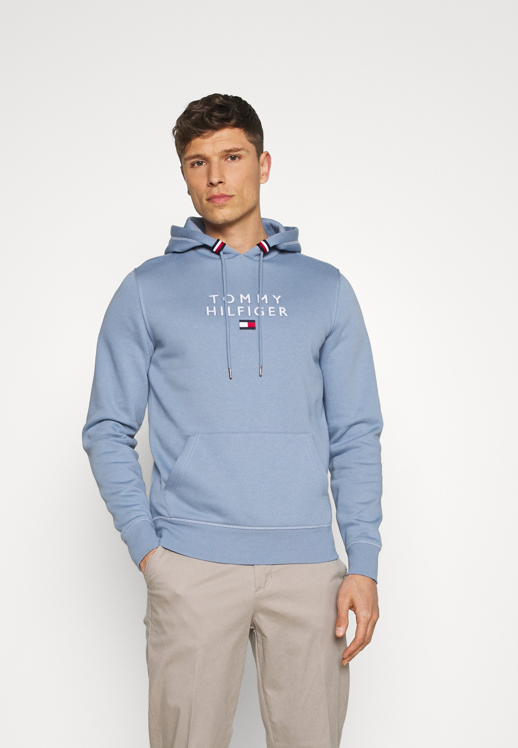 Homme STACKED FLAG HOODY - Sweatshirt