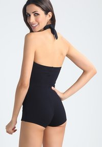 Seafolly - BOYLEG ONE PIECE - Swimsuit - black - 2