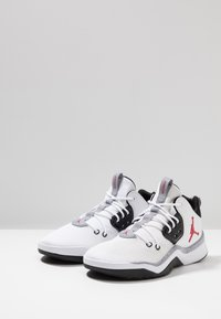 Jordan - DNA - High-top trainers - white/gym red/black/cement grey - 2