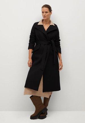 VENUS - Classic coat - svart
