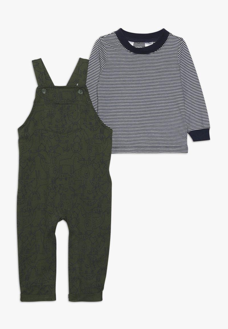 Carter's - OVERALLS BABY - Hängselbyxor - green