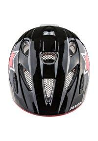 Alpina - XIMO FLASH - Helm - black-red-white star - 2