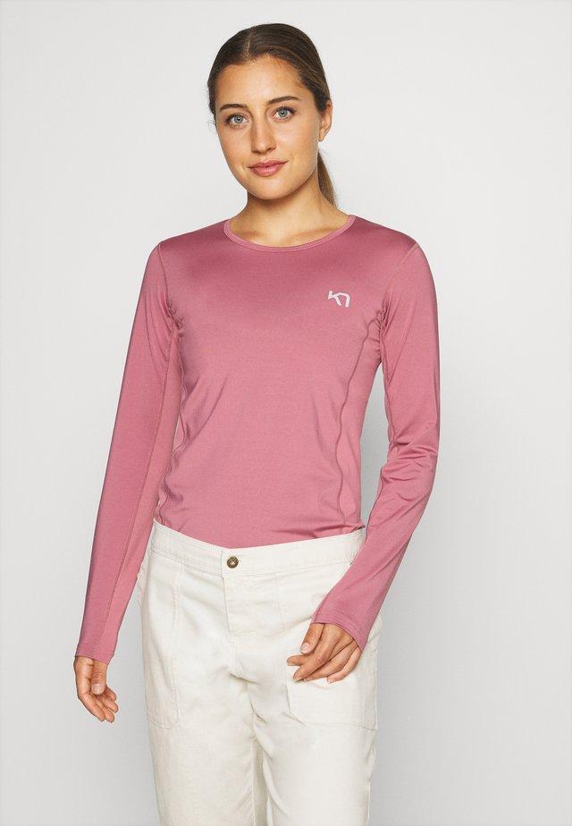 NORA - Camiseta de manga larga - lilac