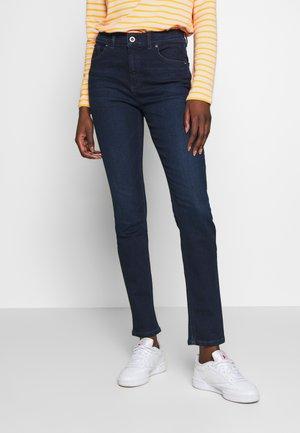 TROUSER - Jeans slim fit - dark blue base wash