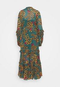 Farm Rio - TEAL BANANA MAXI DRESS - Maxi dress - multi - 6