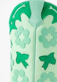 Jeffrey Campbell - LOONEY - Cowboy/Biker boots - green/white - 2