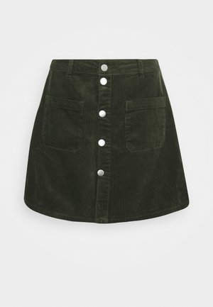 JDYSHIRAZ LIFE SHORT SKIRT - Mini skirt - forest night