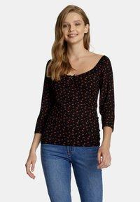 Vive Maria - Long sleeved top - schwarz allover - 0