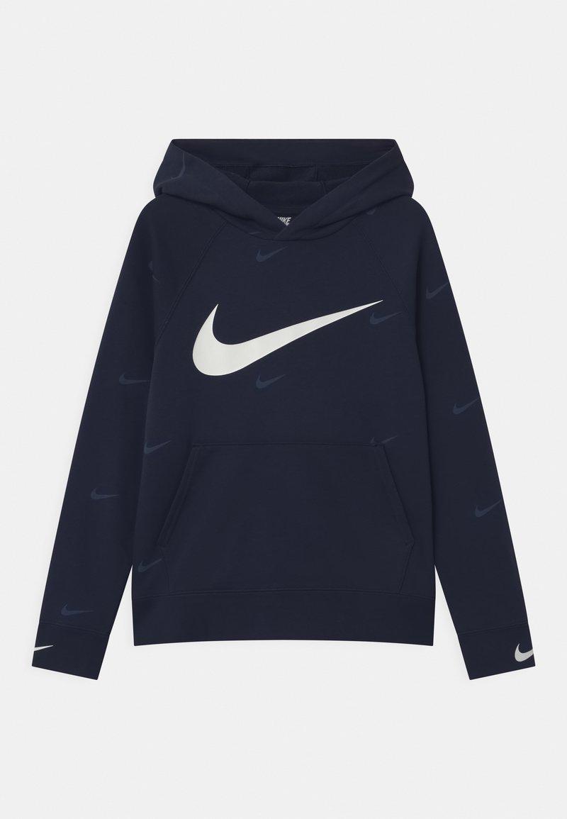 Nike Sportswear - HOODED UNISEX - Jersey con capucha - midnight navy/white