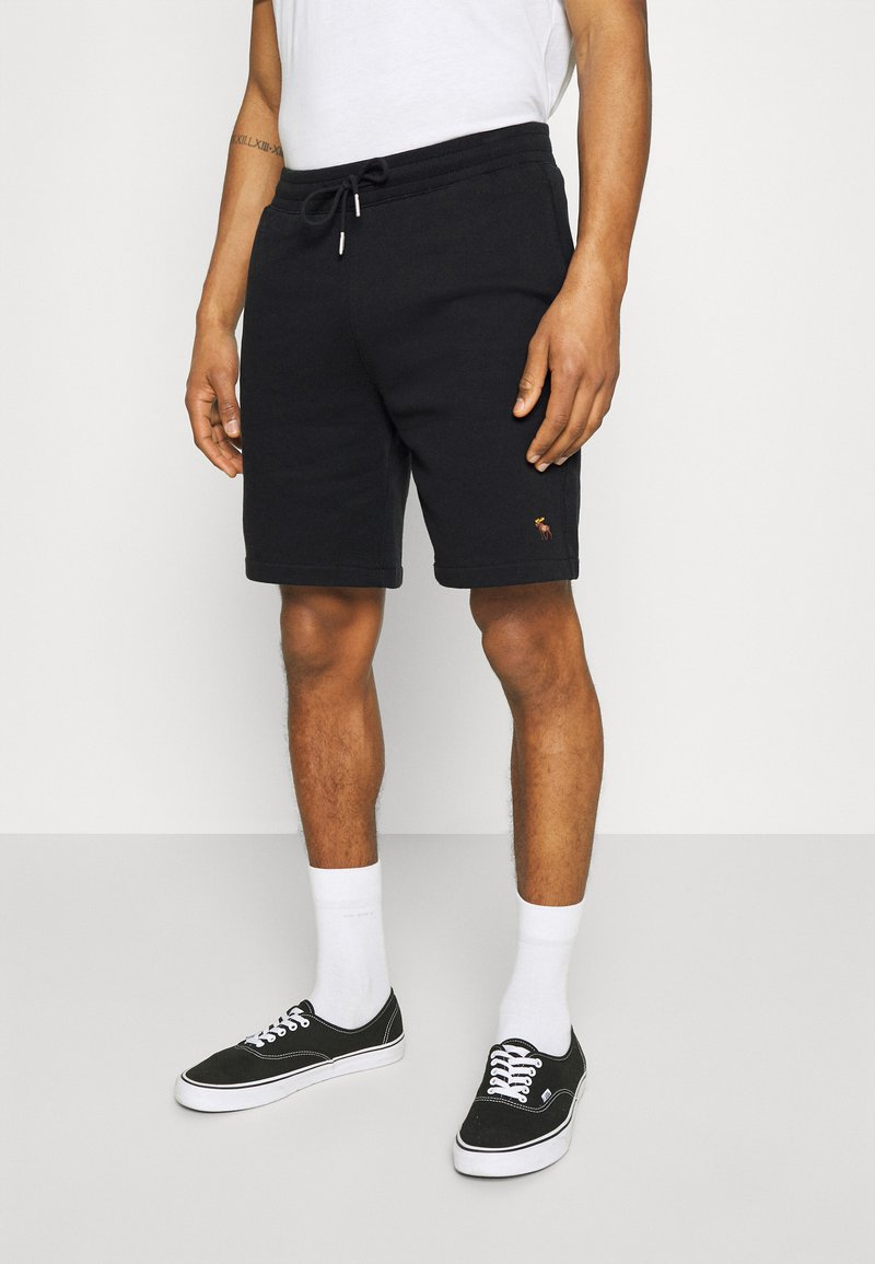 Abercrombie & Fitch - ICON - Shorts - black