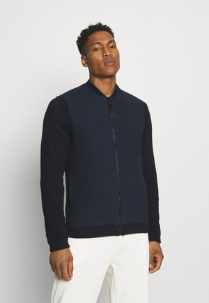 ONSPRESLEY QUILTED JACKET  - Kardigan - dark navy