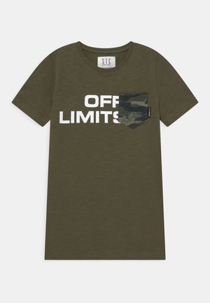 TEENAGER - T-shirt print - olive