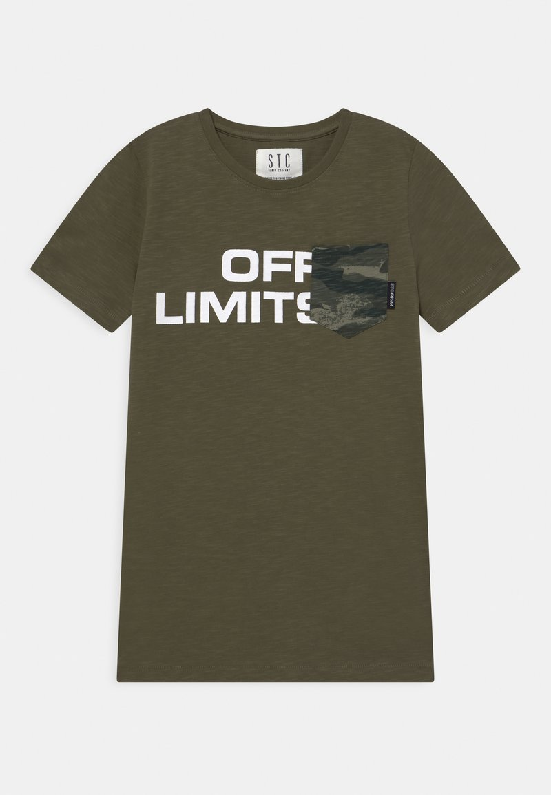 Staccato - TEENAGER - T-shirt print - olive