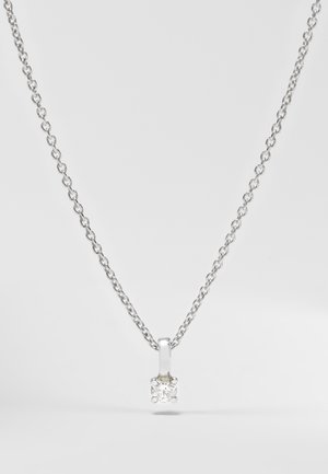 WHITE GOLD - Necklace - silver-coloured