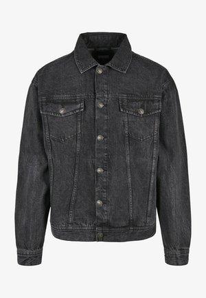 Denim jacket - black stone washed