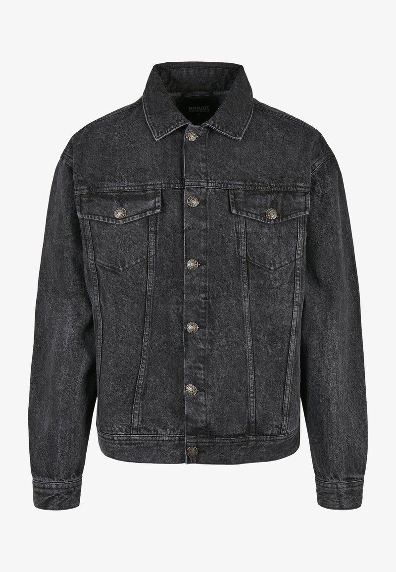 Urban Classics - Denim jacket - black stone washed