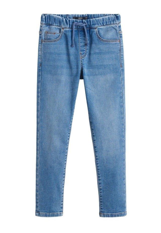 COMFY - Jeans a sigaretta - mellemblå