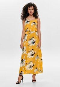 ONLY - ONLWINNER - Maxi dress - vibrant yellow - 0