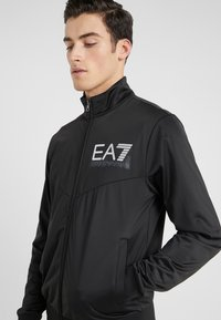 EA7 Emporio Armani - TRACKSUIT - Tracksuit - black - 8